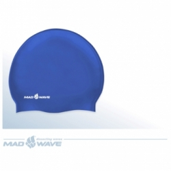 Шапочка для плавания Mad Wave Silicone Junior Solid М054701006